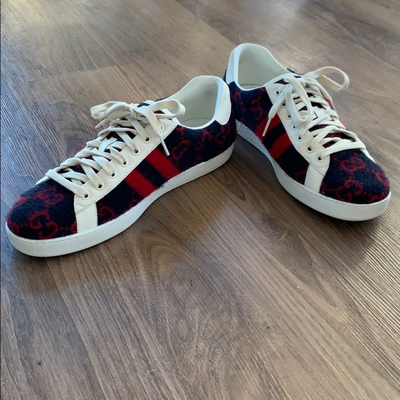 c0c6790794 ACE GG Mens Gucci Sneakers ✨ AUTHENTIC